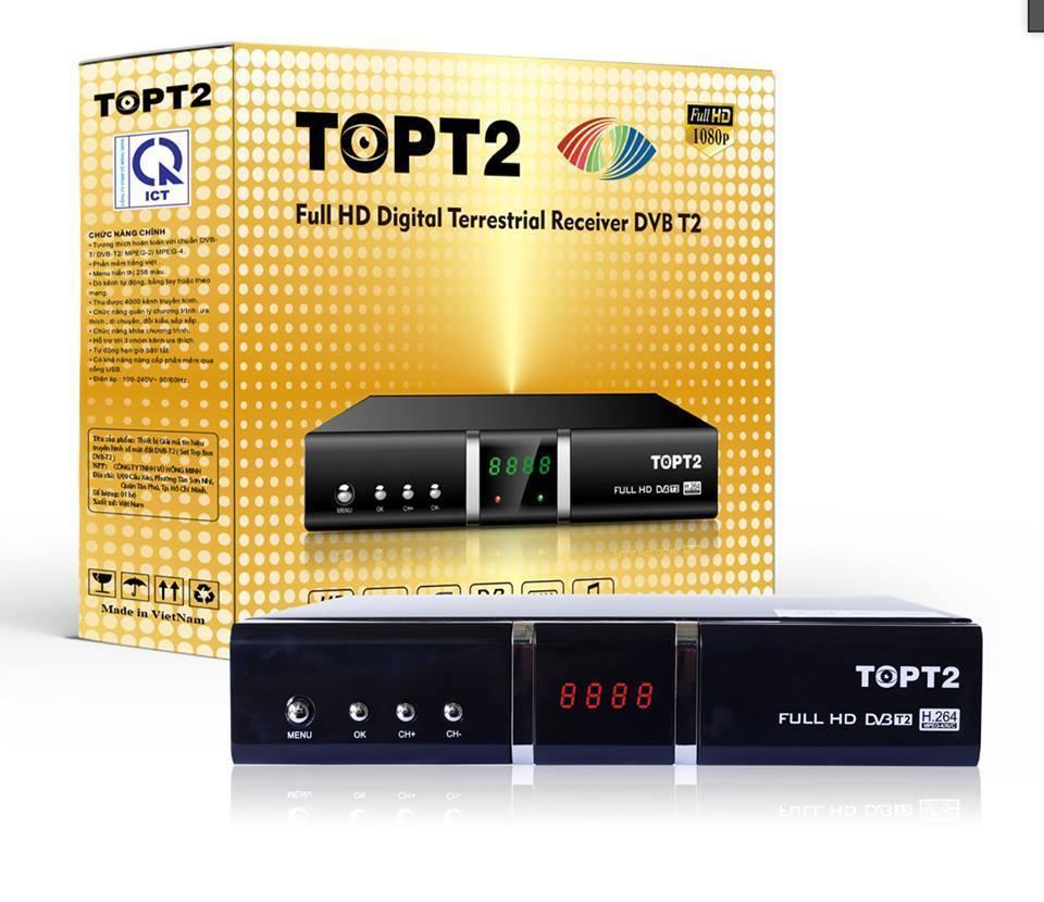 Đầu thu truyền hình số DVB T2