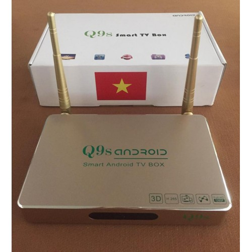 ANDROID TV BOX Q9S.
